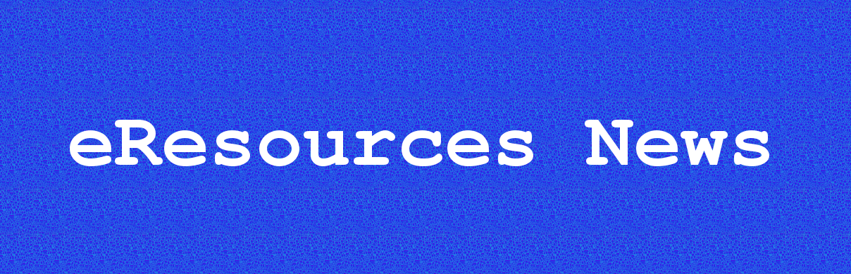 eResources News header image