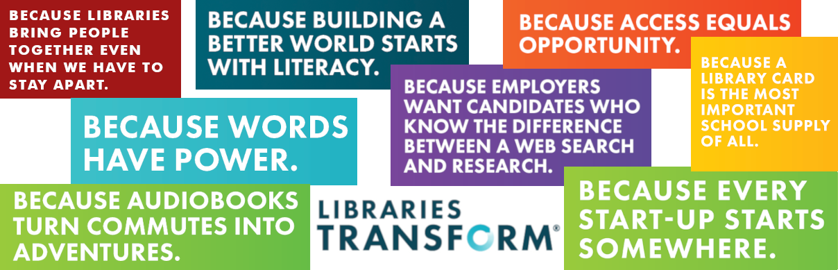 Libraries transform communities