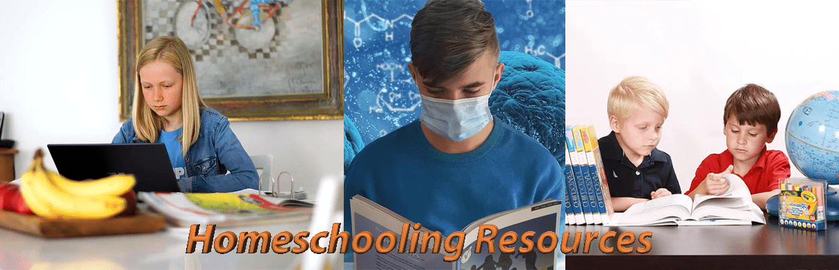 Homeschooling Resources page header image